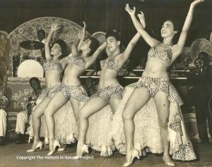 Cuban Danciang Dolls, 1955