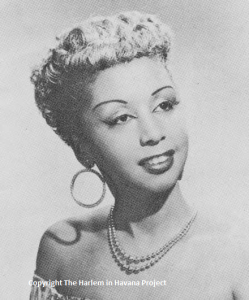 Mercedes Valdes, 1955