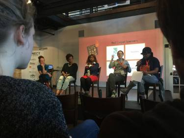 Cucalorus Women's Filmmaker Panel 2015